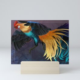 Gold Phoenix Mini Art Print