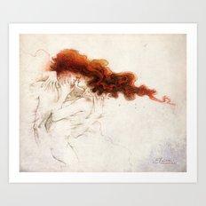 Fire&Gasoline Art Print