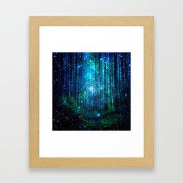 magical path Framed Art Print