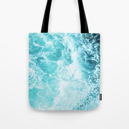 Perfect Sea Waves Tote Bag