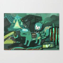 tland Canvas Print