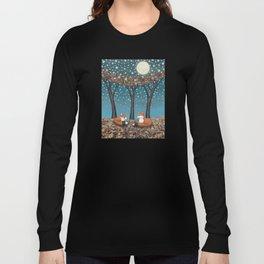 starlit foxes Long Sleeve T-shirt