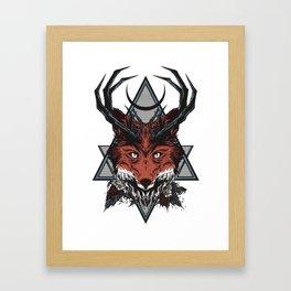 Blasphemy Framed Art Print