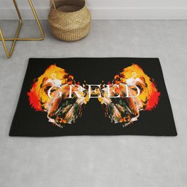 The Seven deadly Sins - GREED Rug