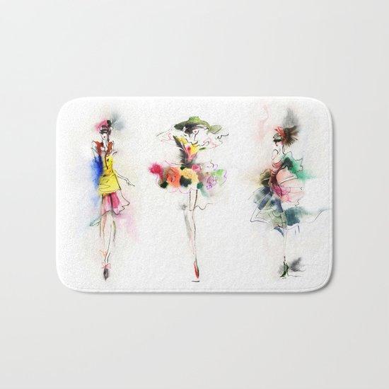 woman fashion Bath Mat