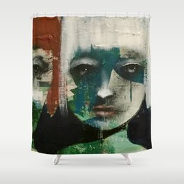 It's intense Shower Curtain