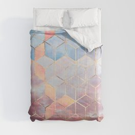 Magic Sky Cubes Comforters