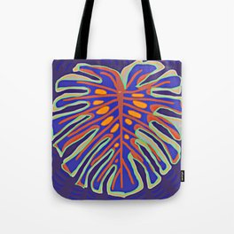 Monstera Flying to Summer Tote Bag