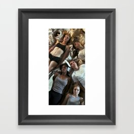 bodies Framed Art Print
