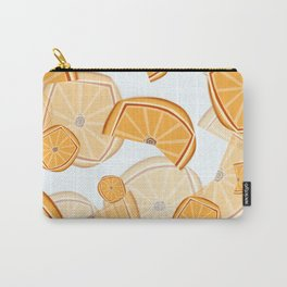 Orange design Carry-All Pouch