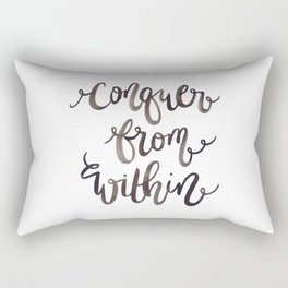 Conquer from Within Rectangular Pillow