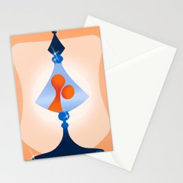 lava lamp Stationery Cards
