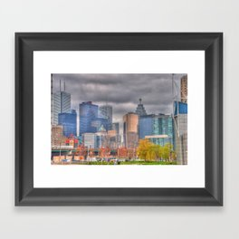 Down Town Toronto Framed Art Print