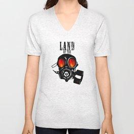 Land of the Gas Mask Unisex V-Neck