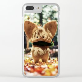 Timothy the autumn mouse Clear iPhone Case