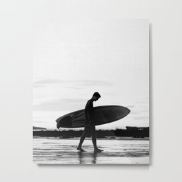 Surf Boy Metal Print