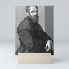 Michelangelo Mini Art Print