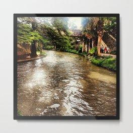 River Walk Metal Print