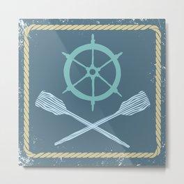 Nautical! Metal Print