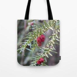 Autumnal Berries Tote Bag