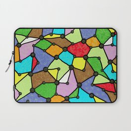 Yzor pattern 130001 Connexions  Laptop Sleeve