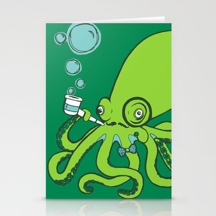 Mr.Octopus Stationery Cards