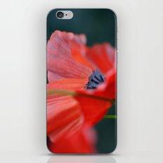 Artificial Poppy iPhone Skin