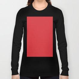 Poppy Red Long Sleeve T-shirt