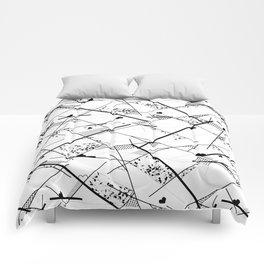 I heart Geo Comforters