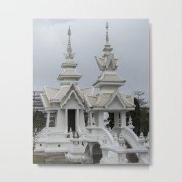 The White Temple - Thailand - 014 Metal Print
