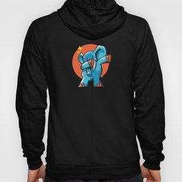 Funny Dabbing Elephant, Elephant Lover, Cute Elephant Design Hoody