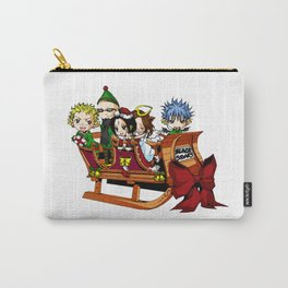 Nana - Black Stones Christmas Carry-All Pouch
