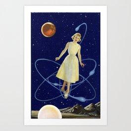 In Orbit Art Print