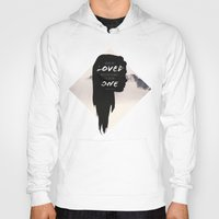paper towns Hoodies featuring Paper Towns: Maybe she loved mysteries so much by karifree