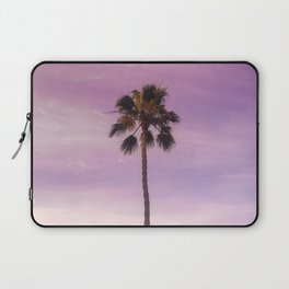 Sunset Palm in Southern California Laptop Sleeve