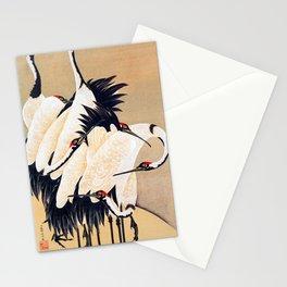 Ito Jakuchu - cranes - Digital Remastered Edition Stationery Cards