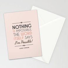 I'm Possible! Stationery Cards