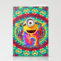 minion Stationery Cards featuring Minion by DisPrints