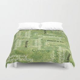 """Proud to be """"S"""" Duvet Cover"""