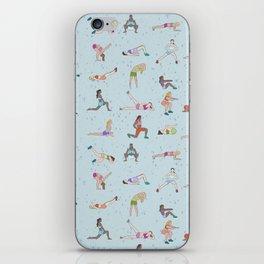 Ladies gym bag iPhone Skin