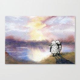 Companion Sheep Canvas Print