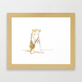 reska Framed Art Print