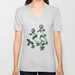 Live in a clover Unisex V-Neck