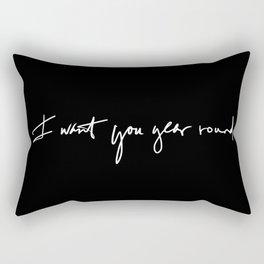 Year Round  Rectangular Pillow
