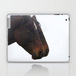 Twin Horses Photography Print Laptop & iPad Skin