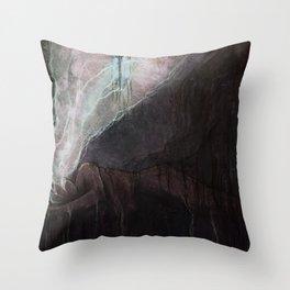 Disquieting Torpor Throw Pillow