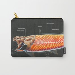 Dunkleosteus Terrelli Muscle Study Carry-All Pouch