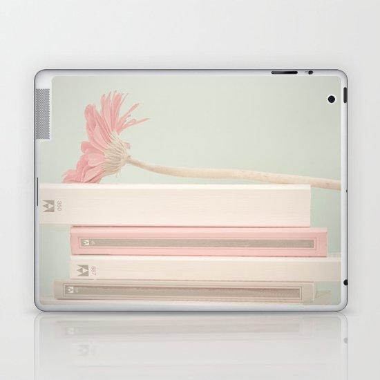 Nostalgic Books (Retro and Vintage Still Life Photography) Laptop & iPad Skin