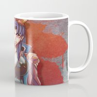 evangelion Mugs featuring The End Of Evangelion by AirForceTuan