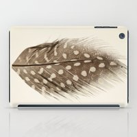 feather iPad Cases featuring Feather by Mina Teslaru